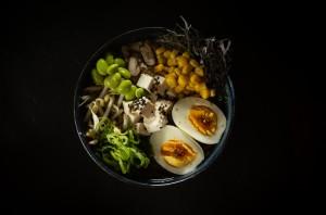Zeleninový Ramen v Tatami